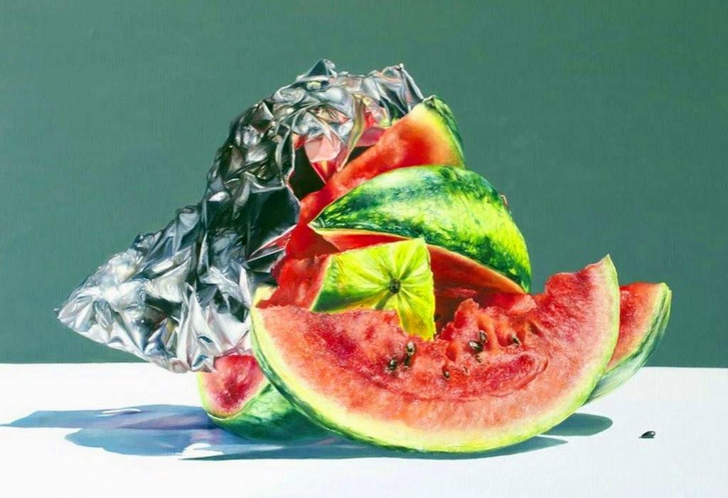 bodegones-con-frutas-en-realismo-al-oleo