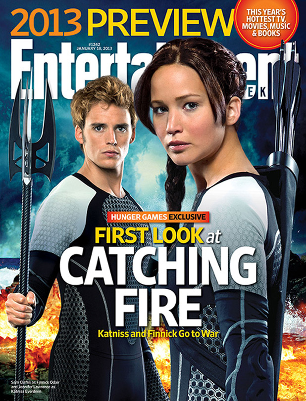 EW Cover Story The Hunger Games movieloversreviews.blogspot.com