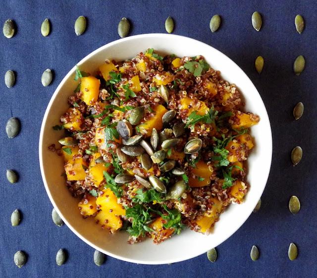 quinoa gluten free z dynią