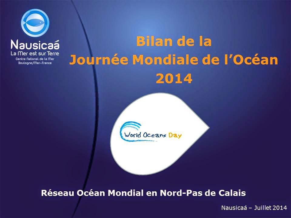BILAN JOURNEE MONDIALE DE L'OCEAN 2014