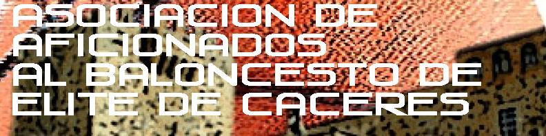 Asociación de Aficionados  al Baloncesto de Elite  de Cáceres