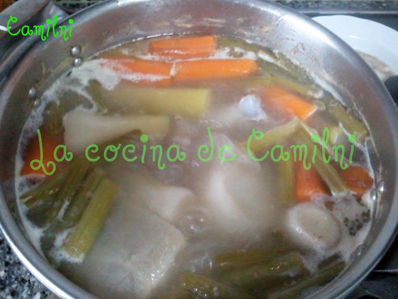 La cocina de camilni puchero gaditano - Garbanzos olla express ...