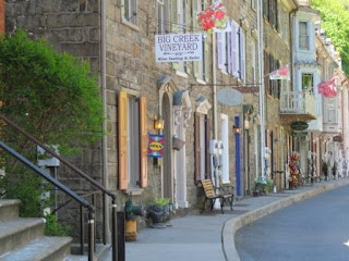 Race Street in Jim Thorpe, PA