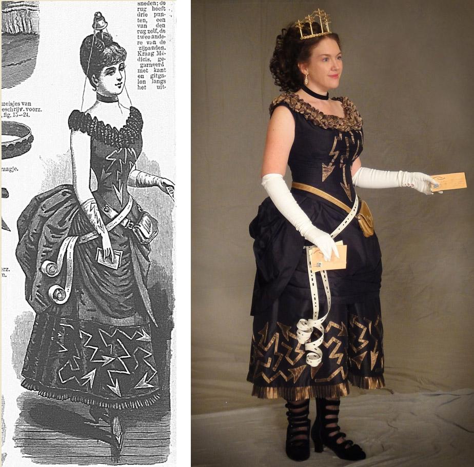 Festive Attyre: Telegraph fancy dress