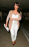 Kim Kardashian Wearing Lace Silk Cami. Kim Kardashian wearing Carine Gilson .