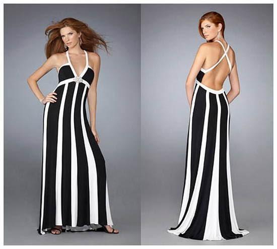 çizgili elbise