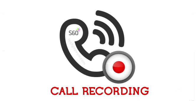 Call recording on symbian phone