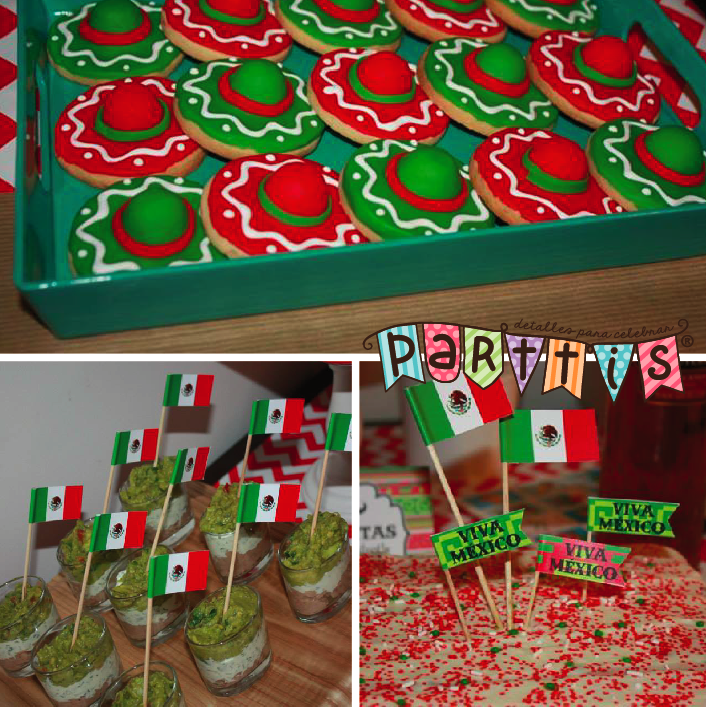 Parttis una bonita y divertida fiesta mexicana for Decoracion kermes mexicana