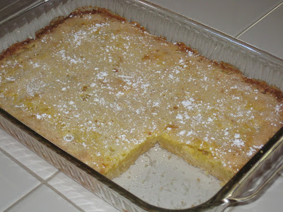Katie Couric's lemon bar squares