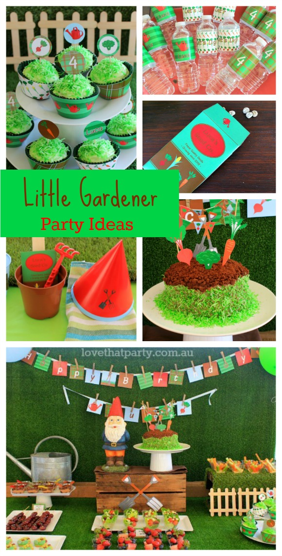 Start Planning a kid's Gardening Party!