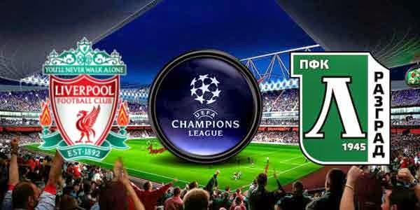 Video Gol Liverpool vs PFC Ludogorets Razgrad 2 1 Champions League 2014