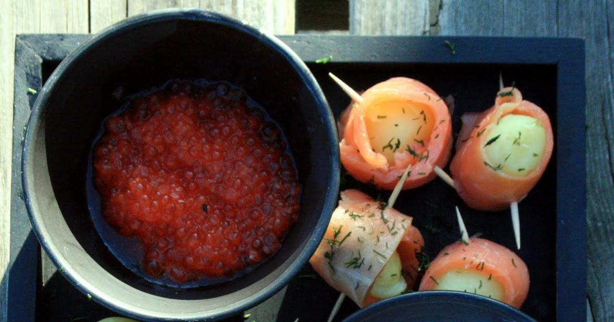 Vin de pissenlit un ap ritif ensoleill roul s de saumon en pommes de terre nouvelles - Recette vin de pissenlit ...