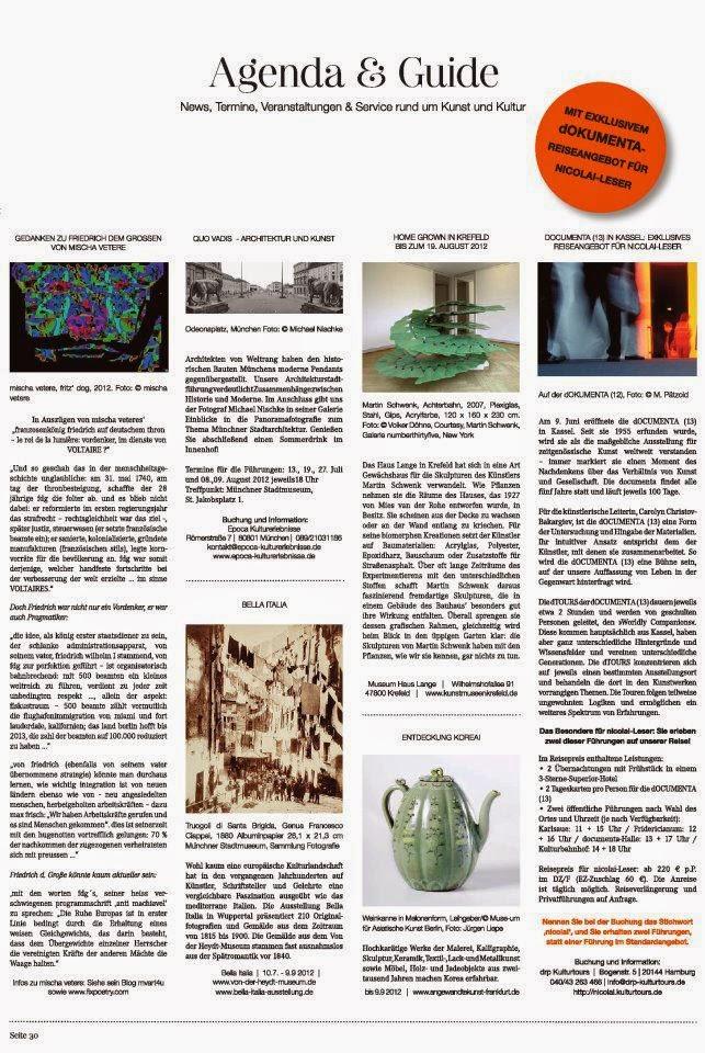 VOLTAIRE friedrich hommage mischa vetere 1789 (2012) DIE GEISTIGE REVOLUTION LA RÉVOLUTION MENTALE