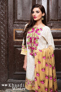 Khaadi Stylish winter collection 2016