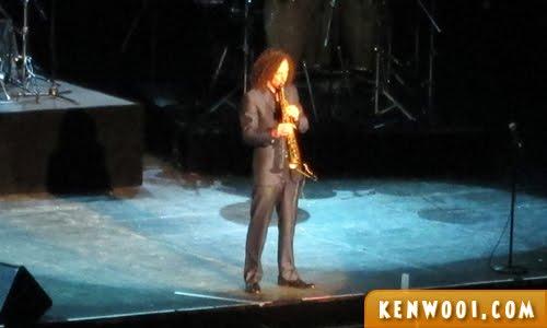kenny g live soprano sax