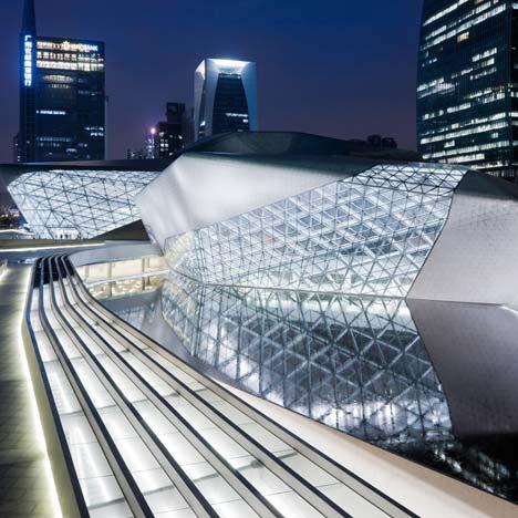 Chicago sartorialist guangzhou opera house zaha hadid for Beijing opera house architect