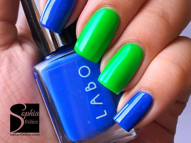 Labo Led - Combo Blu e Verde