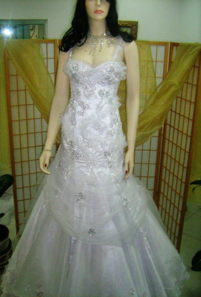 فساتين زفاف بتصميم عراقي