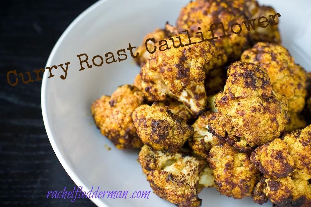 Curry Roast Cauliflower