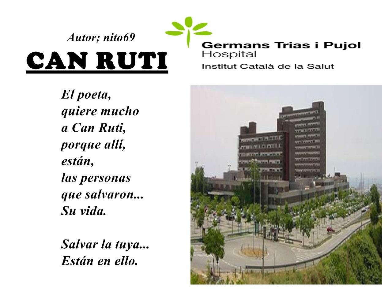 """CAN RUTI La residencia que me salvo la vida """" gracias Can Ruti """"."""