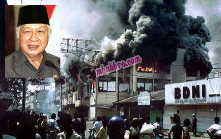 Suharto dan salah satu kerusuhan Mei 1998