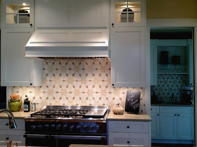 Luxury designer Faith Sheridan loves the custom tile at Calistoga 