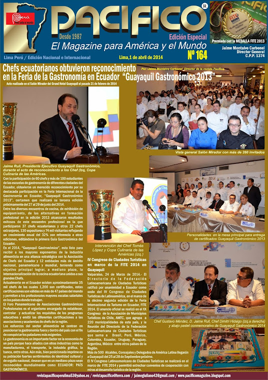 Revista Pacífico Nº 164 Edición Especial / FITE 2014