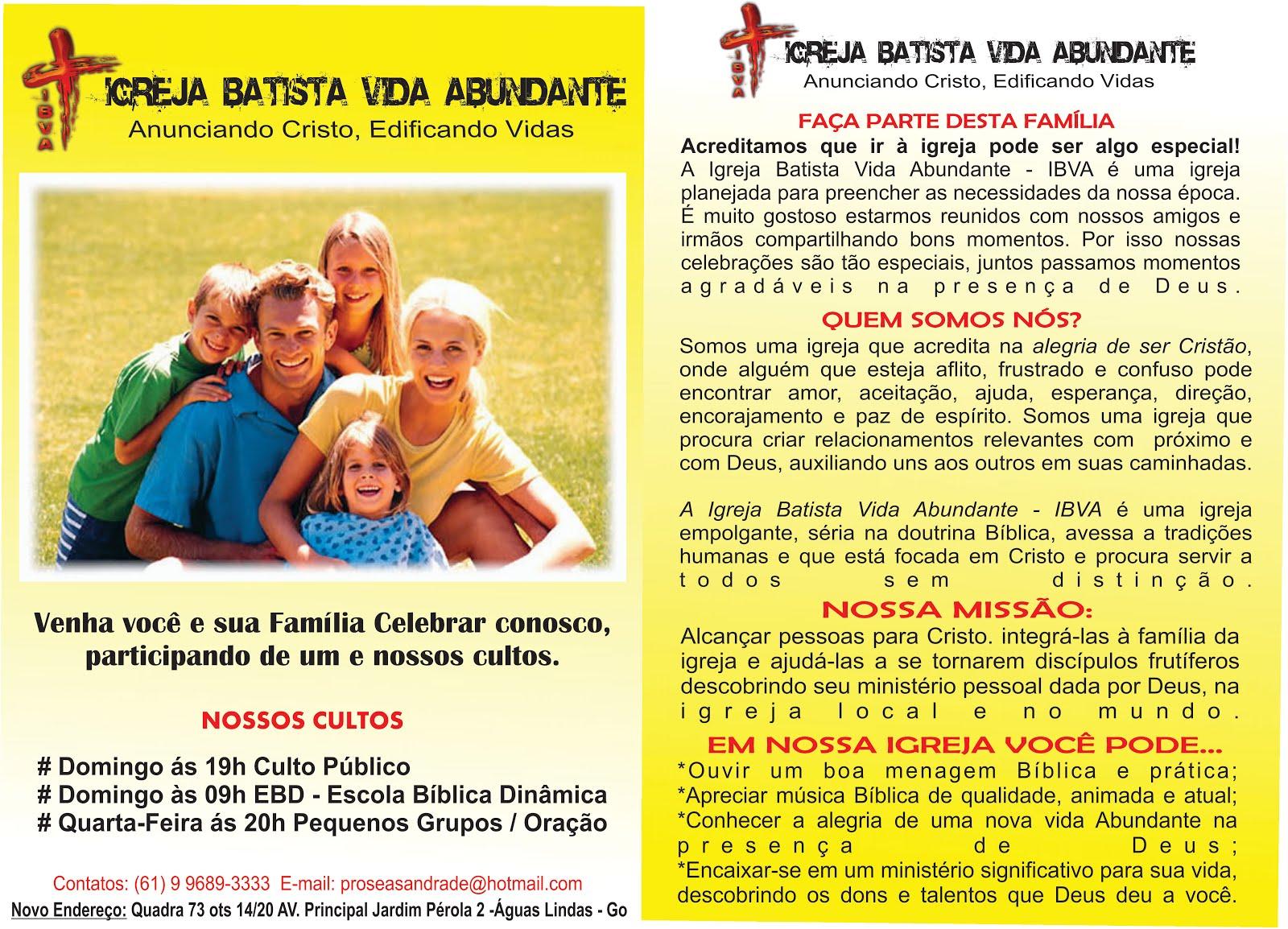 Igreja Batista Vida Abundante - IBVA