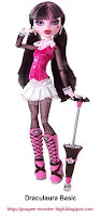 Poupée Monster High Draculaura Basic