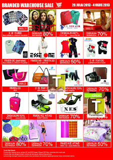 Branded Warehouse Sales 2013