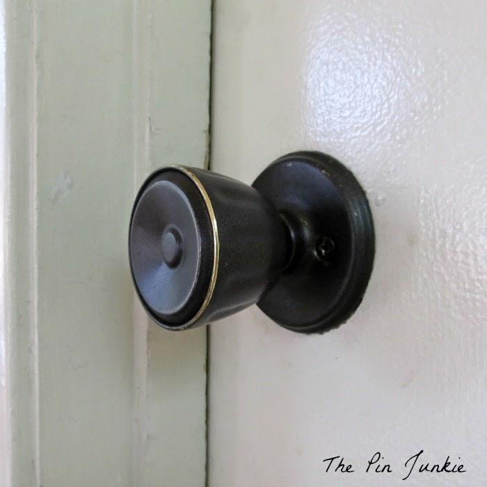 painted door knobs