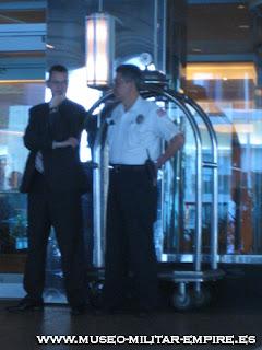 el departamento de seguridad en un hotel: