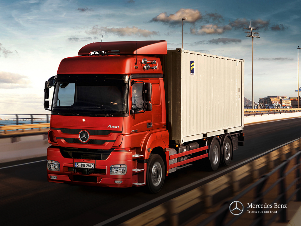 nuevos mercedes benz axor 2011 pasion por los camiones. Black Bedroom Furniture Sets. Home Design Ideas