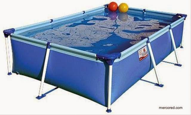 Arquitectura de casas distintos tipos de piscinas for Albercas desarmables