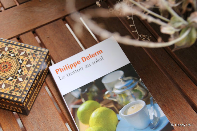 Le trottoir au soleil - Philippe Delerm
