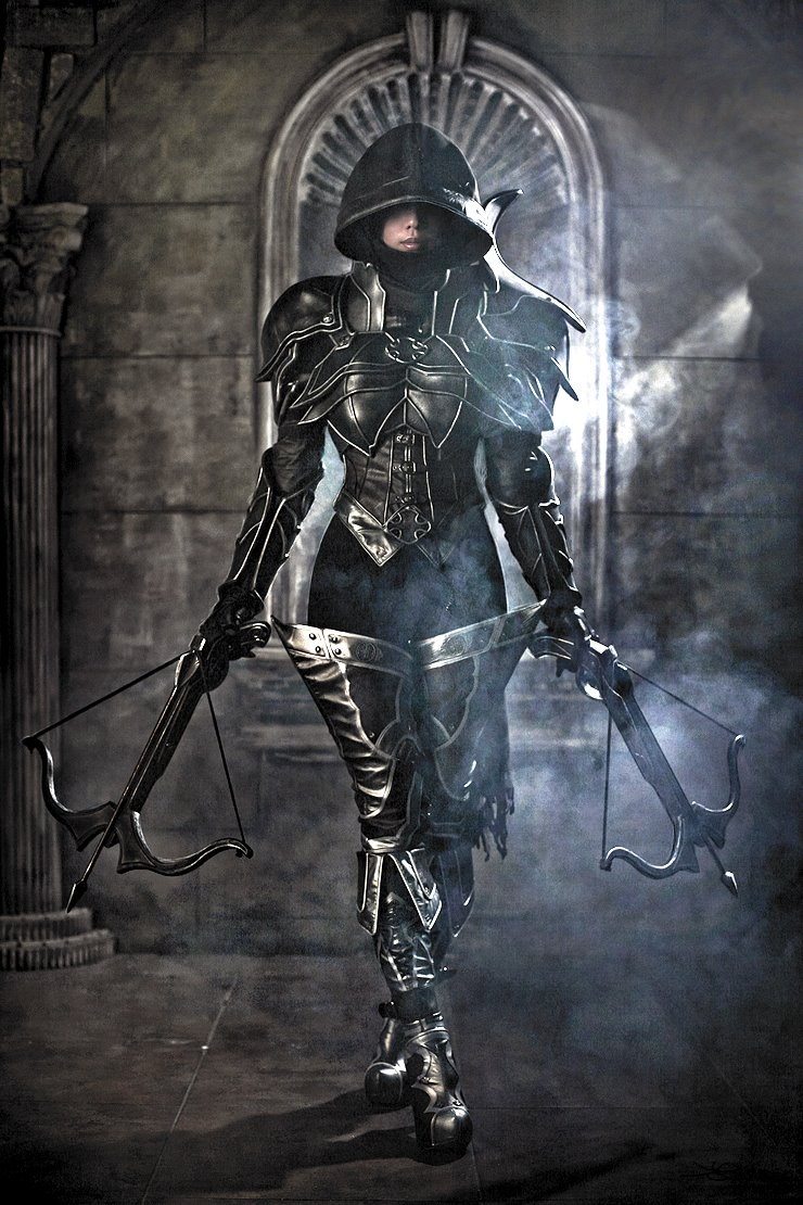 Diablo iii demon hunter cosplay by tasha blog cosplay for Demon hunter