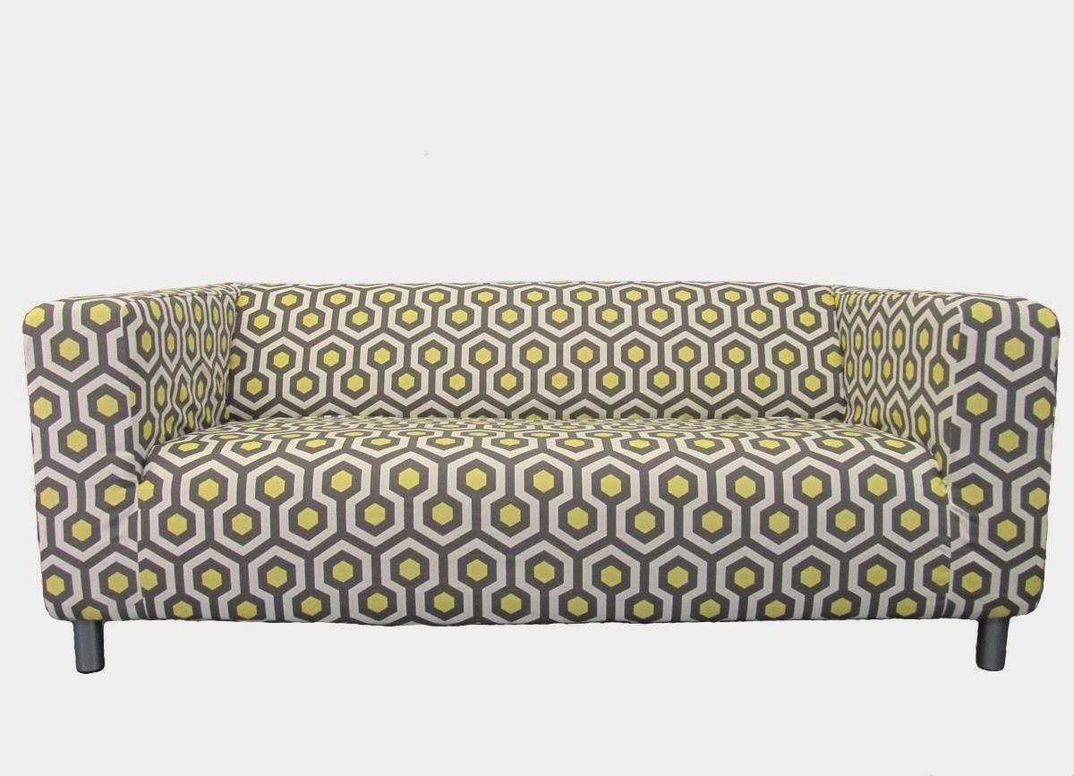 Knesting IKEA Klippan slipcover