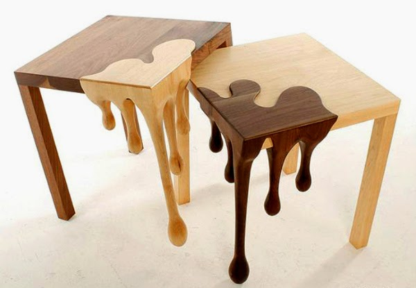 65 creative furniture ideas spicytec for Interesting table legs