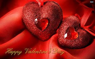 قلوب حمراء عيد الحب 2013