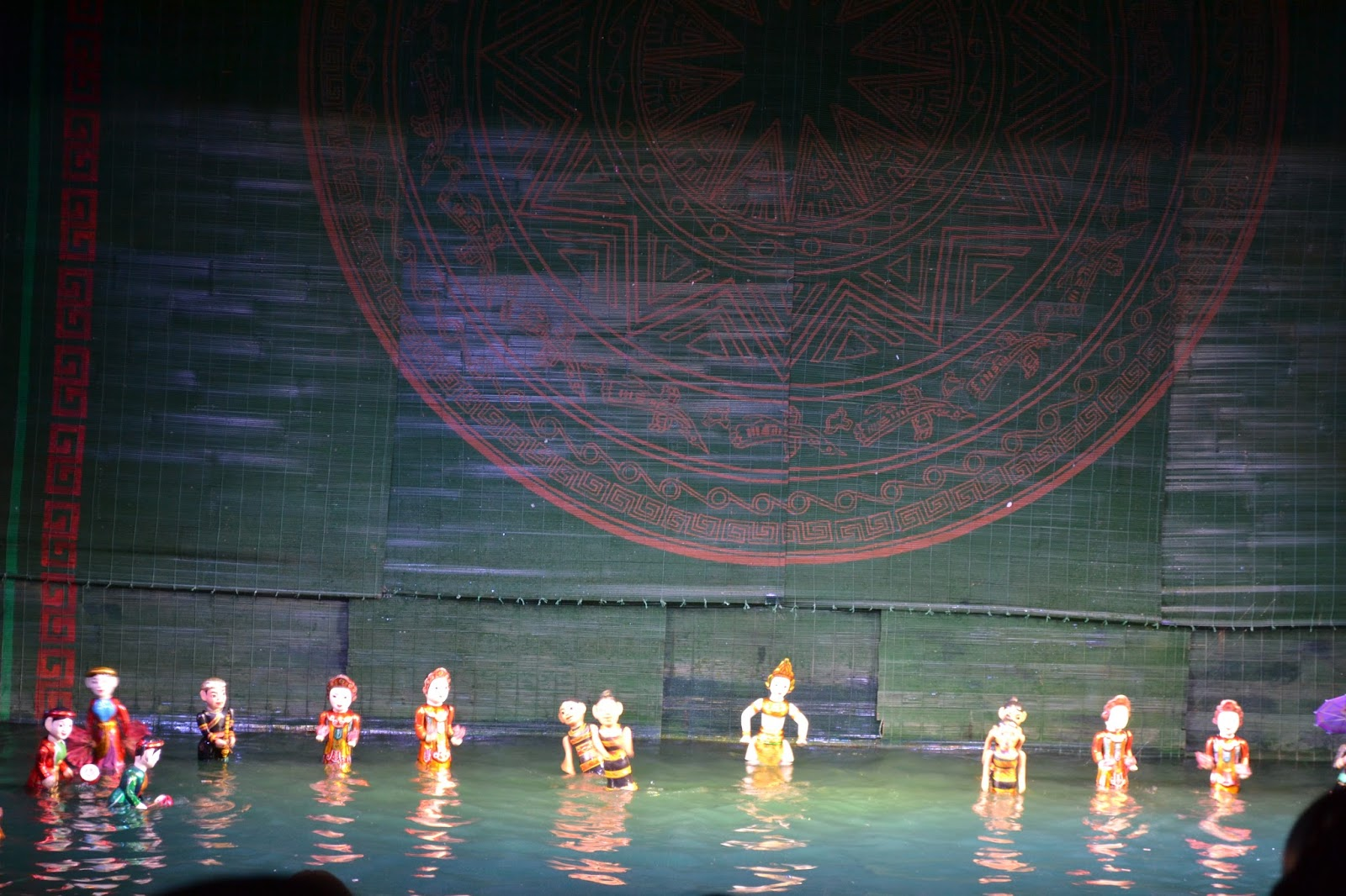 Indian dance, Thang Long Water Puppet Theater, hanoi