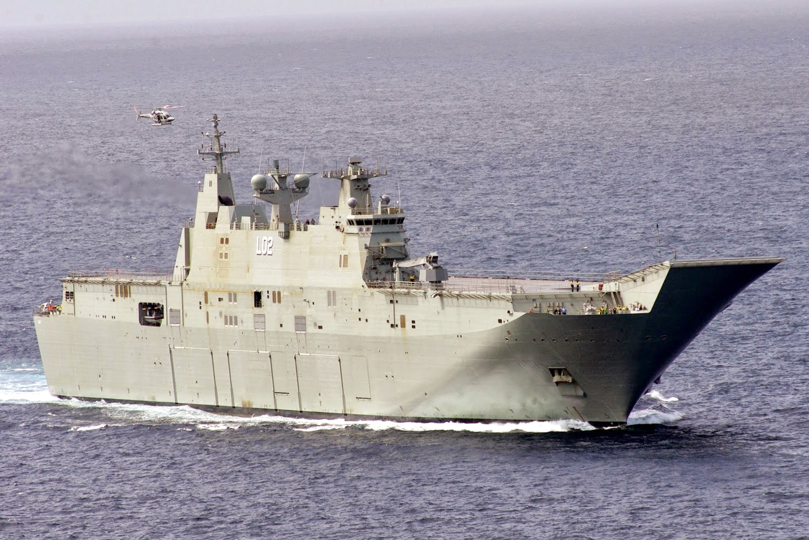 HMAS Canberra III L02
