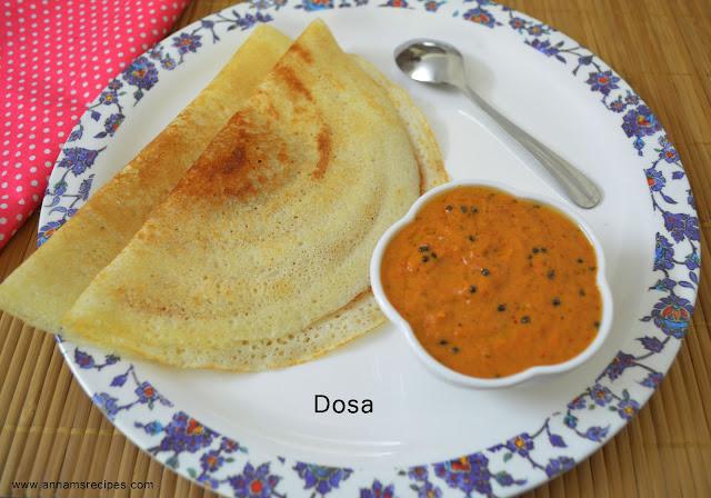 Dosa Recipe