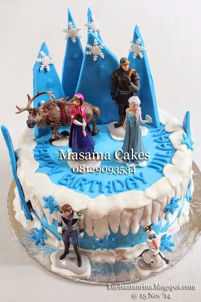 Masama Cakes: Frozen Birthday Cake For Jiilaan....