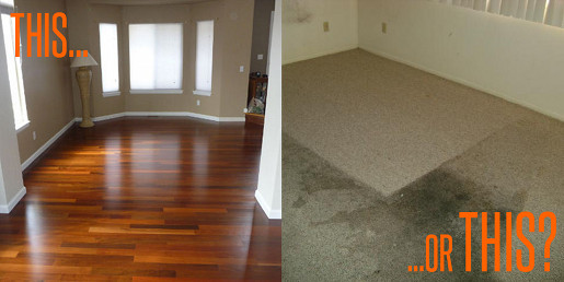 FANTASTIC FLOOR The Top Reasons You Should Choose Hardwood - Flooring that can go over carpet