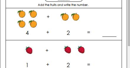Belajar Matematika Penjumlahan Untuk Anak Usia Dini File Wikiedukasi