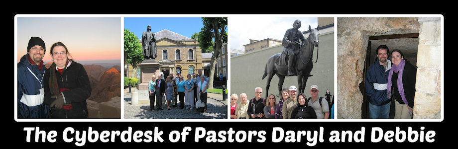 Pastors Daryl's and Debbie's Cyberdesk