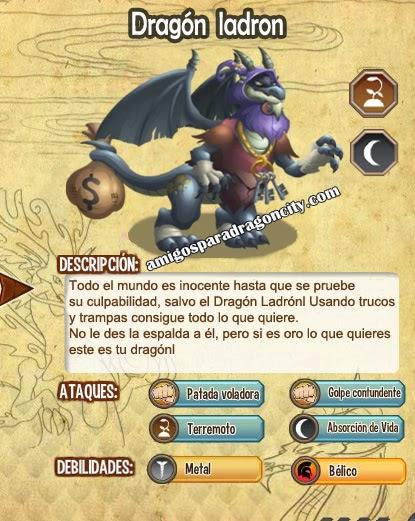 imagen del thief dragon  y sus caracteristicas