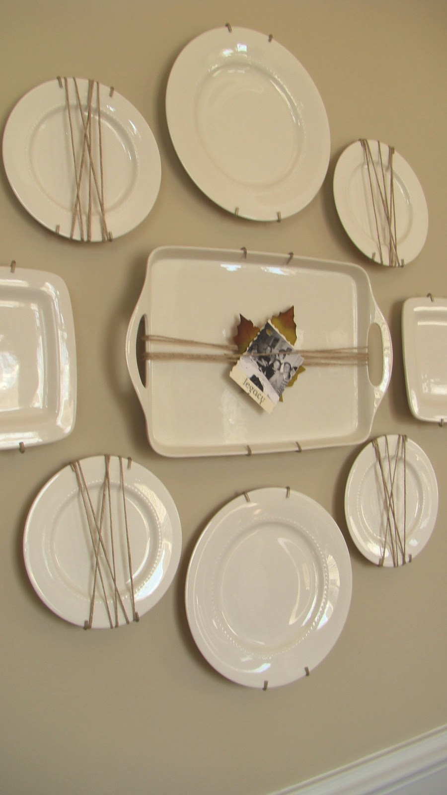 Adventures in decorating our fall dining room