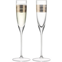 LSA Garbo Champagne Flutes