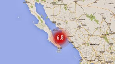 TERREMOTO 6,8 GRADOS EN MEXICO, 19 de Octubre 2013